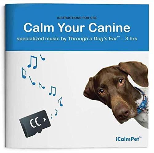 Calm Your Canine   3-Hours of Clinically-Tested Calming Music by Through a Dog's Ear   Micro SD Sound Card