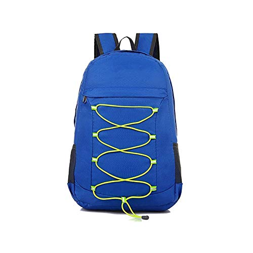 Brands Simple And Fashionable Sports Folding Bag Can Store Outing Backpack Lightweight Folding Skin Bag Leisure Travel Backpack (Color : C)