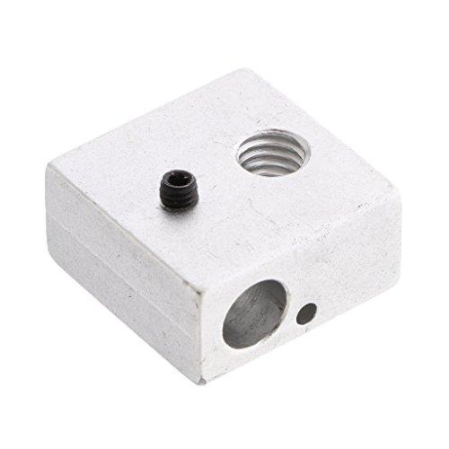 20x20x10mm High W / M6 Heater Block Mounting Hole for MK7 MK8 3D Printer
