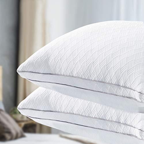 MSmask Pillows 2 Pack, Luxury Support Pillows,48x74cm Standard Bed Pillow...