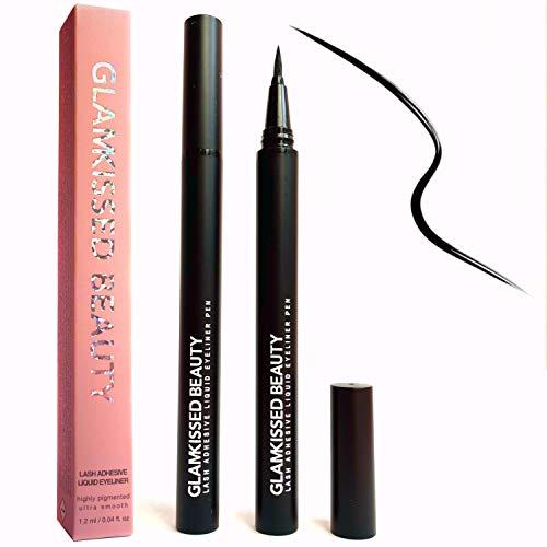 Selbstklebender Eyeliner Stift, Klebender Eyeliner für Falsche Wimpern, Alternative zu Wimpernkleber (kein magnetischer Eyeliner)
