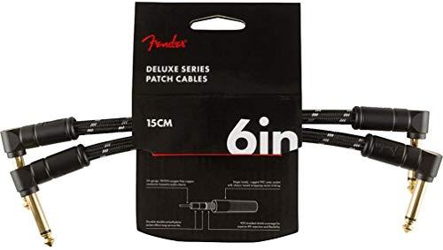 Fender 099-0820-087 Cable de parche de la serie Deluxe - 6 pulgadas...