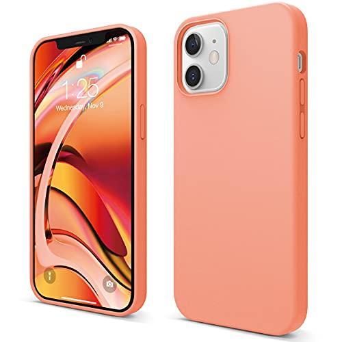 elago Silicona Líquida Funda Compatible con iPhone 12 Case y Compatible con iPhone 12 Pro Case (6.1