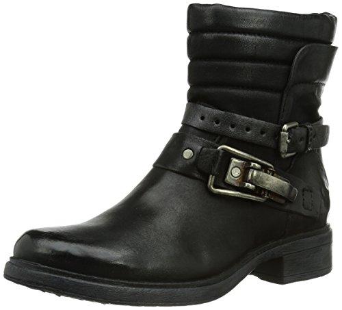 Mjus Damen 605254-5770-6002 Biker Boots, Schwarz (Nero), 37 EU