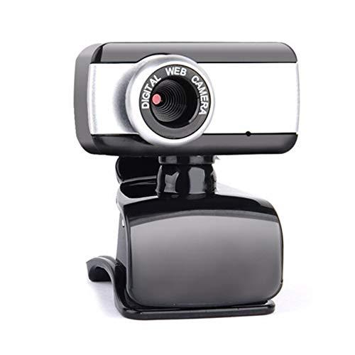 YMKT Cámara Web HD USB 2 0 con Micrófono Zoom 480P Cámara Web CMOS Sensor Plug and Play Webcam con Micrófono con Cancelación de Ruido para Ordenador Portátil Ordenador de Sobremesa Mac