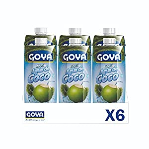 Goya Agua de Coco, 12 Unidades x 330 Ml, 1980 G