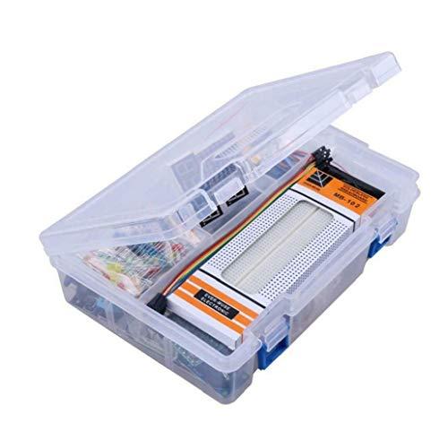 Kit De Inicio Para Arduino Proyectos, Incluyendo Cortar El Pan Holder, Lcd 1602, Servo, Sensores Y Detallados Tutoriales Ma05 Opción Ideal Y Práctica