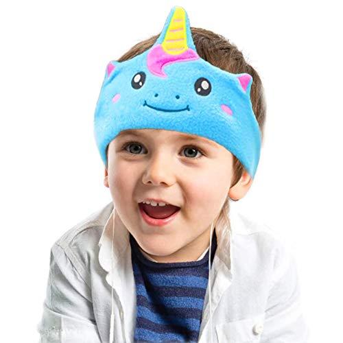 Auriculares para niños, limitación de Volumen con Altavoces Ajustables Ultra Delgados Soft...