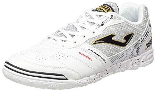 Joma Mundial 2002 Blanco Indoor, Futsal Shoe Hombre, 40 EU