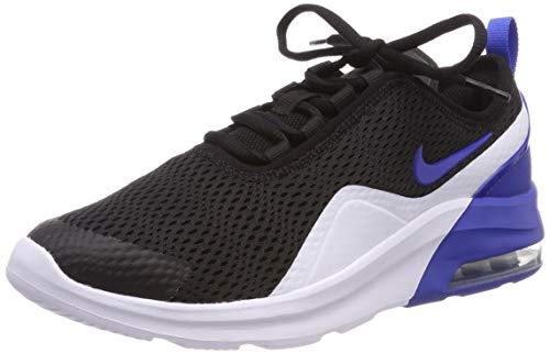 Nike Baby Jungen Air Max Motion 2 (Gs) Gymnastikschuhe, Mehrfarbig (Black/Game Royal/White 003), 38 EU
