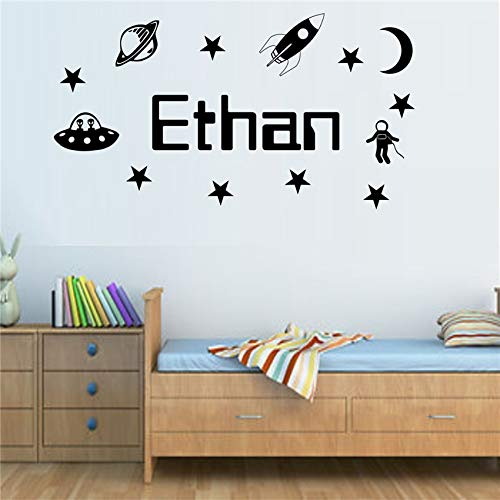 Sanzangtang naambordje voor persoonlijkheid, bijzonder sfeer, planeet, jongens, slaapkamer, kinderen, kunst, decoratie, vinyl, tuin, kinderkamer, kinderkamer