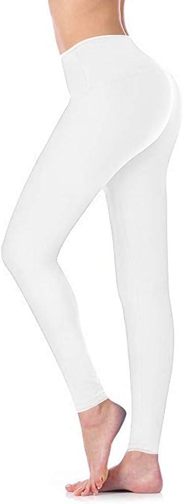 Mlide Womens OFFicial site Ankle Legging Workout Running Waist Jacksonville Mall High Pants Yoga