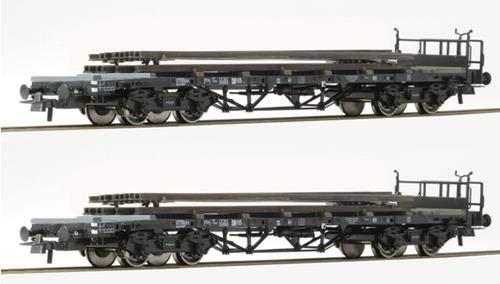 Roco 76196 2-tlg. Set: Rungenwagen, DR