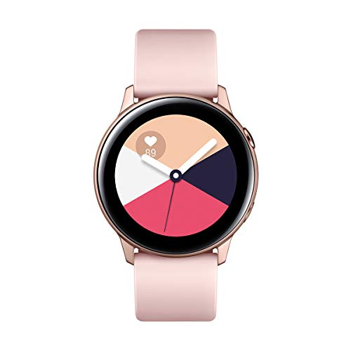 "Samsung Galaxy Watch Active – Smartwatch (1,1"",40mm, Tizen, 768 MB de RAM, Memoria Interna de 4 GB), Color rosa –..."