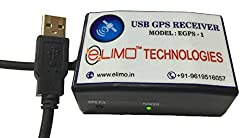 ELIMO AAdhar Uidai Approved USB GPS Receiver (Black),ELIMO TECHNOLOGIES,EGPS-1