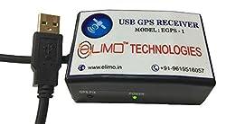 ELIMO AAdhar Uidai Approved USB GPS Receiver (Black),ELIMO TECHNOLOGIES,EGPS-1