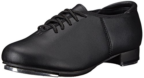 Theatricals Womens T9500 Leather Low Top Lace Up Ballet & Dance, Black, Size 6.5