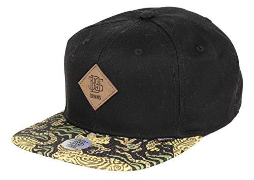Djinns - Crazy Pattern Asian Tiger (Black) - Snapback Cap Baseballcap Hat Kappe Mütze Caps