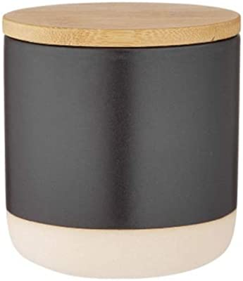 Ladelle Host Canister, 10cm, Charcoal