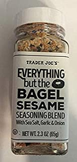 Trader Joe's Seasonings Bundle - Everything But The Bagel Sesame and Chile Lime Seasoning Blends (1 of each) (Limited Edition)