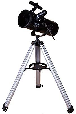 Levenhuk Skyline Base 120S Telescope – Easy-to-Use Newtonian Reflector for Beginners, Producing Sharp, Clear and Detailed Image