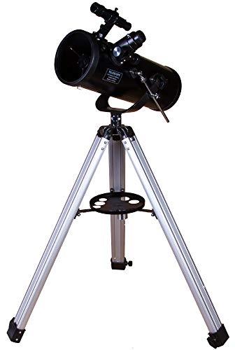 Telescopio Levenhuk Skyline Base 120S – Reflector Newtoniano de Fácil Uso para Principiantes Que Produce Imágenes Nítidas, Claras y Detalladas