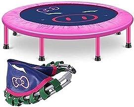 40 inch kleine trampoline met verstelbare leuning bar vouwen stille cardio rebounder jumping fitness body oefening draagba...