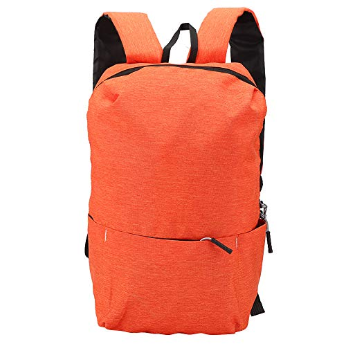 CHICIRIS School Camping ackpack Fashion Belt Adjustable Camping Backpack, Backpack, for Outdoor Sport Running Jogging(Orange)