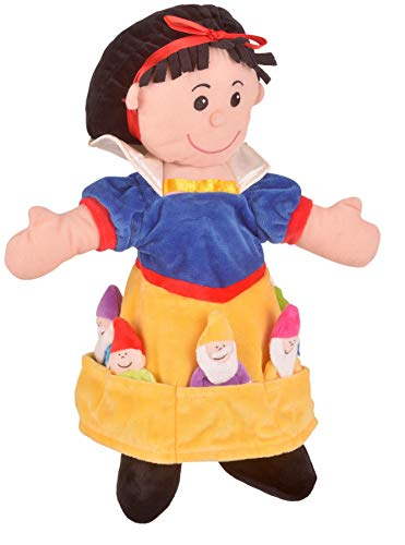 3.7m Snow White and the 7 Dwarfs Hand Puppet 3+