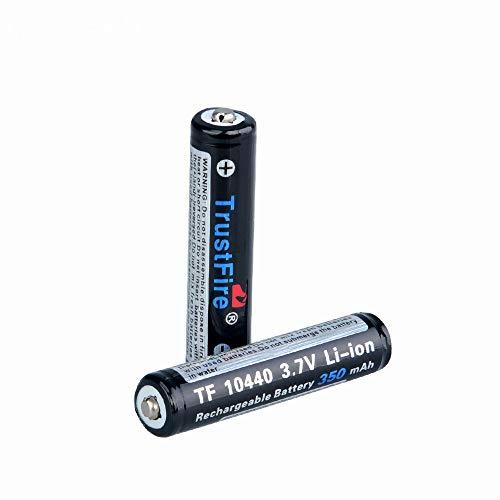 Trustfire 10440 AAA li-ion Akku 3,7 V 350mAh (2 x Akku)