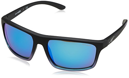 Arnette Sandbank Gafas de Sol, Black Grad Shot Blue, 61 para Hombre