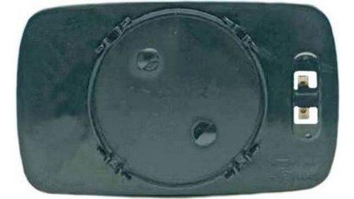 Verre + base droit BM. S3 E36 4ptas. (91 = > 98)/Compact convexe bleu thermique
