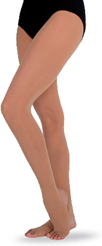 Body Wrappers girls Procut Convertible Tights (C37)