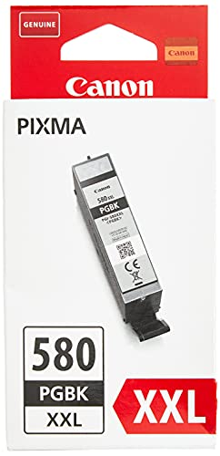 Canon PGI-580XXL Cartouche PGBK Noire Pigmenté XXL (Emballage carton)
