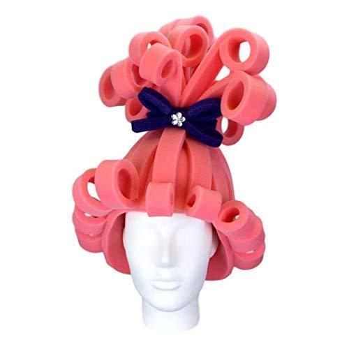 Foam Party Hats Pink Foam Wig - Cosplay Wigs - Wig for Women - Costume Wig - Dress Up Wig