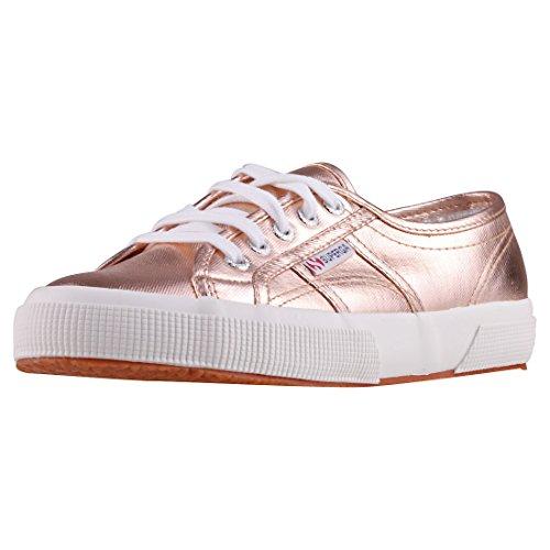 Superga 2750 Cotmetu, Damen Low-Top Sneaker, Gold (Rose Gold), 36 EU
