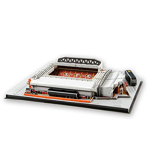SDBRKYH Anfield Stadium Modell, Stadion 3D Puzzle Football Club Liverpool-Team-Fan-Fanartikel