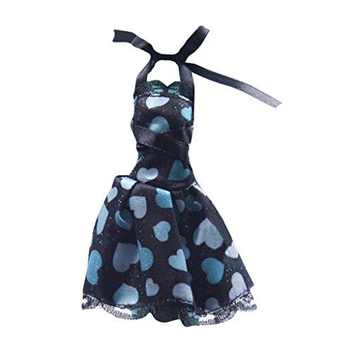 MagiDeal Puppen Bekleidung Set Fashion Kleidung Outfit für Monster High Puppe, 17 Form - Kleidung 7