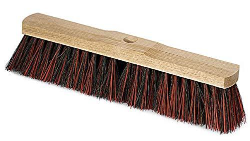 HAESA_working_tools Saalbesen Besen Elaston Arenga Mischung mit Stielloch 60 cm