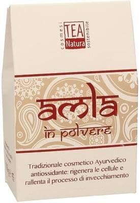 TEA NATURA - Amla (Emlica Officinalis) Soin purifiant pour la peau et les cheveux - Très régénérant - Antioxydant - Renforce les cheveux et les racines - Affine les pores - 100 gr