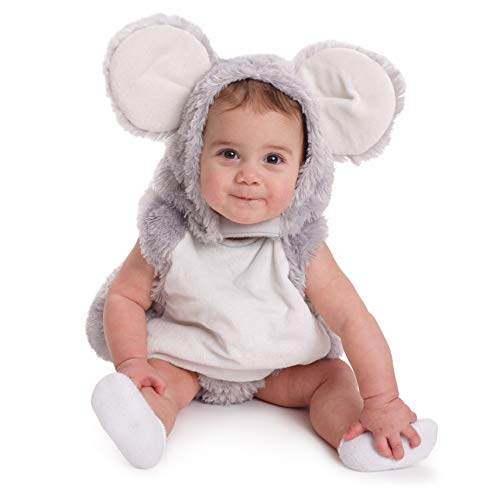 Dress-Up-America Baby Mouse Costume For Toddlers - Adorable Squeaky Mouse Outfit For Halloween And Year Round Dress-Up