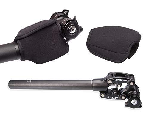 Suntour Federsattelstütze Sattelstütze 27,2 mm + SR Neoprenschutz Fingerschutz