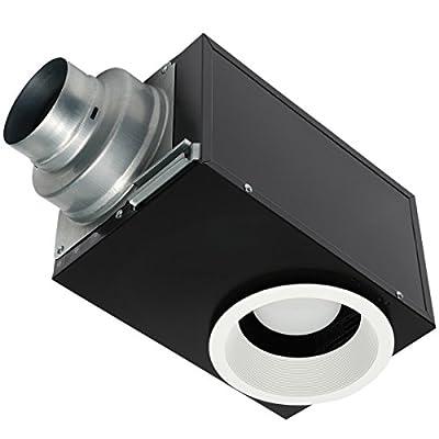 Panasonic FV-08VRE2 WhisperRecessed LED, Designer Ventilation Fan/Light Combination, Quiet