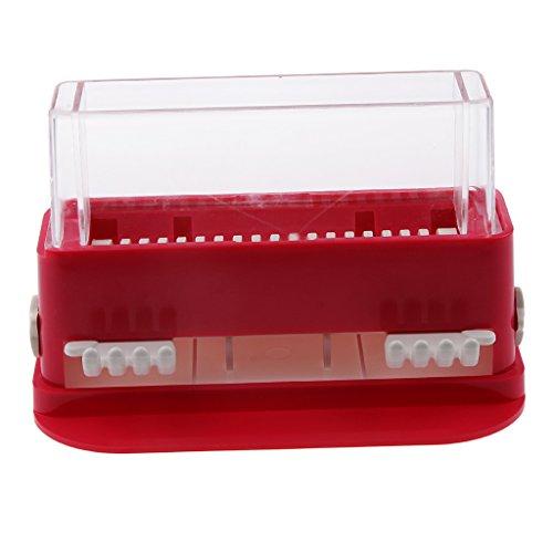 Boîte Rangement Stockage Tampons Ecouvillon pour Extension de Cils