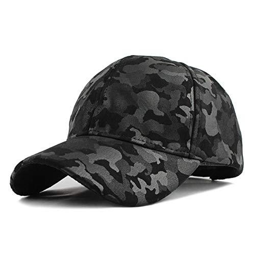 SZJXZ Baseballmütze Wird Sie Nicht Im Stich Lassen Männer Und Frauen Baseball Cap Camouflage Hut Gorras Militares Hombre Verstellbare Snapbacks Caps F224Camouflage Schwarz