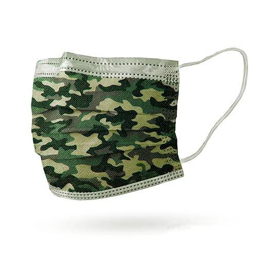 Interstuhl Medma bedruckte Atemschutzmaske in verschiedenen Designs (Camouflage)