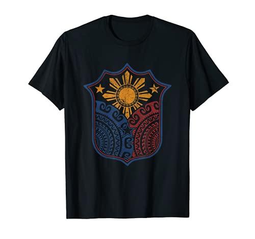 Filipino Pinoy Pride Shirt Mandala Tribal Proud Philippines T-Shirt