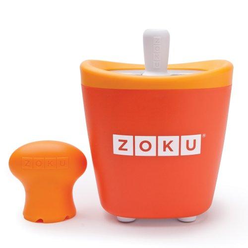 Zoku individual Quick Pop Makes Fun Ice Lollies Sólido durable Lolly eléctrica Hace Ice Pops en 7miuntes BPA y libre de ftalatos.
