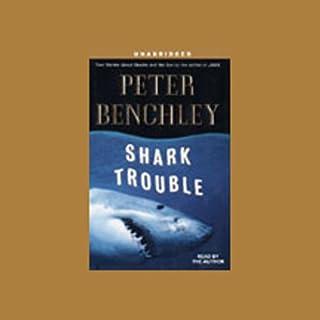Shark Trouble audiobook cover art