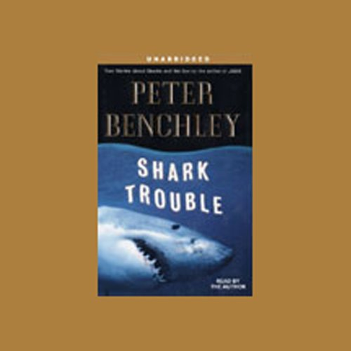 Shark Trouble audiobook cover art